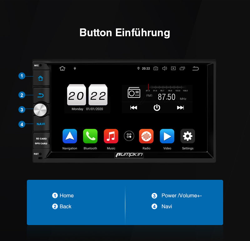 autoradio mit Bluetooth