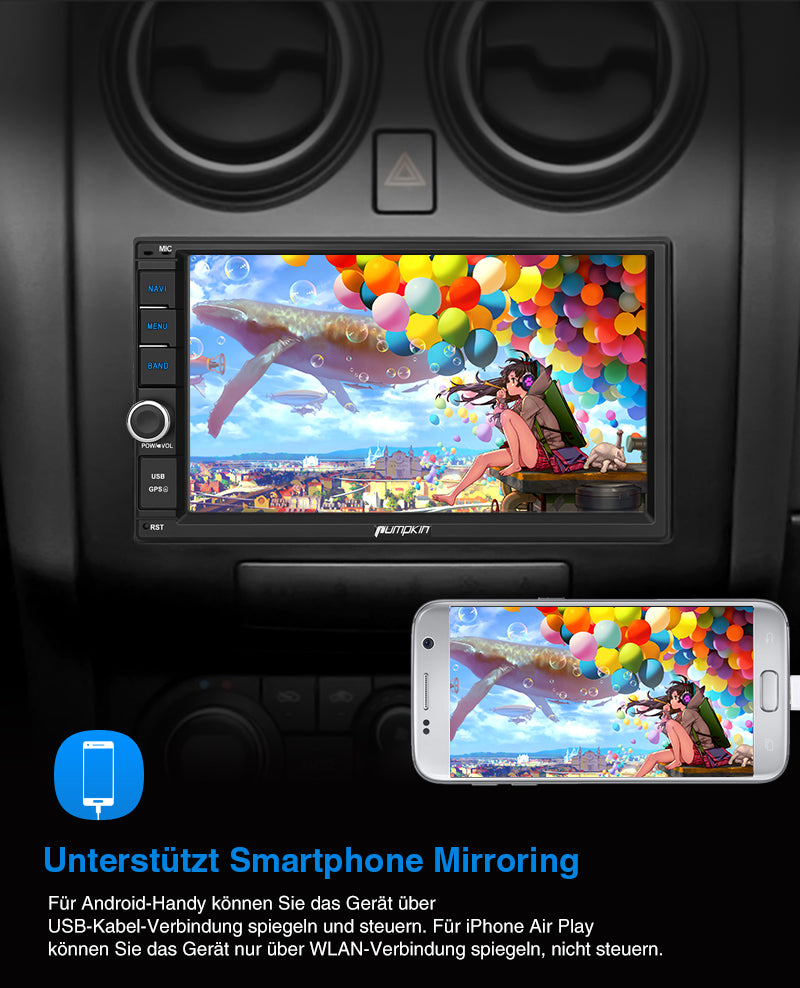 mirrorlink android radio