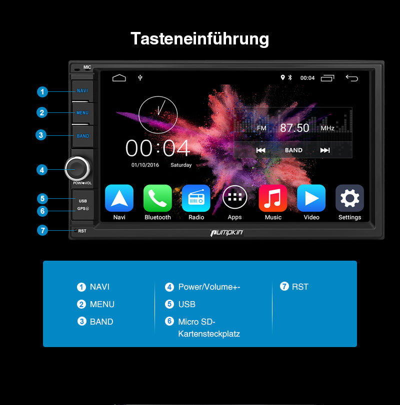 touchscreen audio