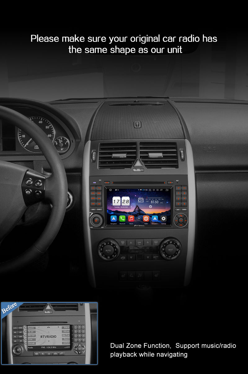 android radio mercedes vito