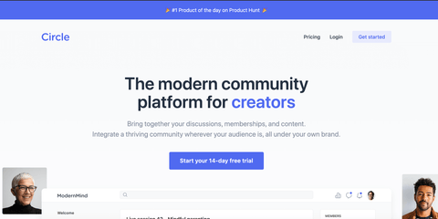 circle.so community platform for creators