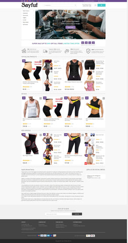 wordpress woocommerce dropshipping clothing store pc