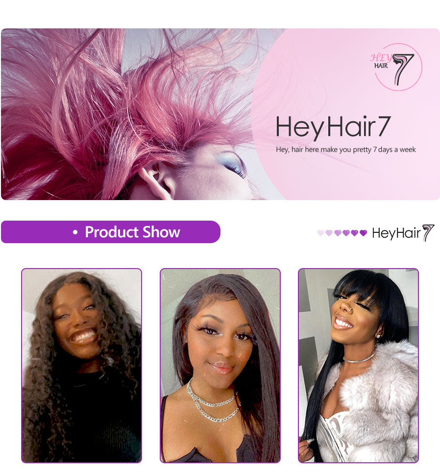 wigs store sell 100 human hair brazilian hd  transparent lace front wigs |heyhair7