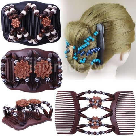 Ihrtrade,Beauty,FGBHC,Flexible Butterfly Hair Clip Comb,Butterfly Hair Clips With Moving Wings