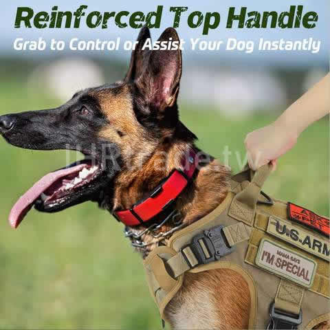 Ihrtrade,Tactical Dog Harness,dws113005,Tactical dog harness with gun holster,Tactical dog harness for large dogs