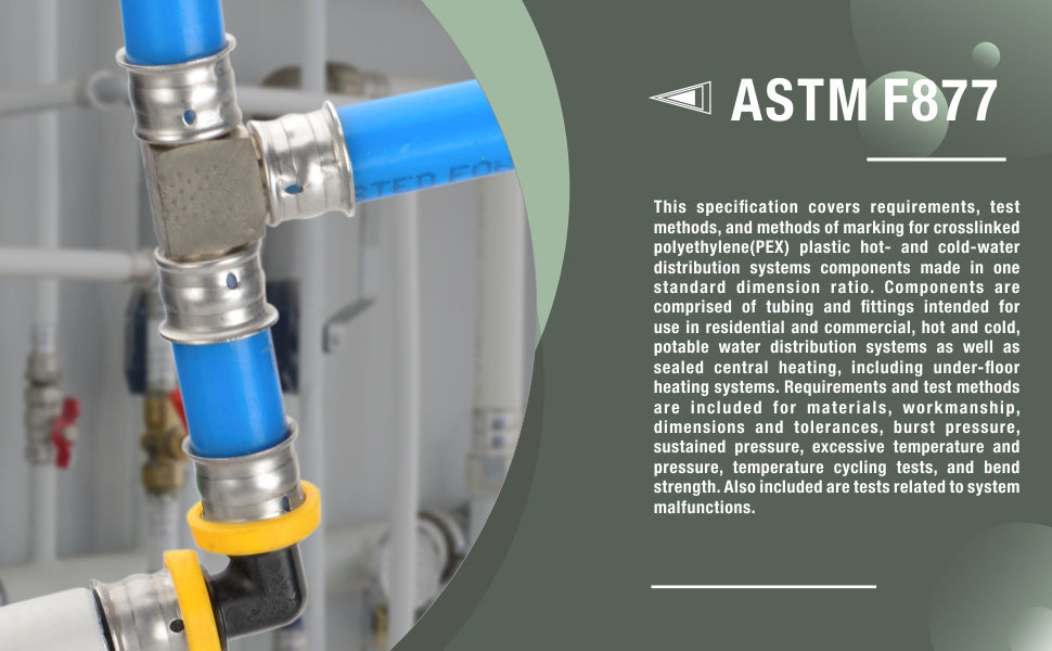 US standard ASTM F877 for Stainless steel