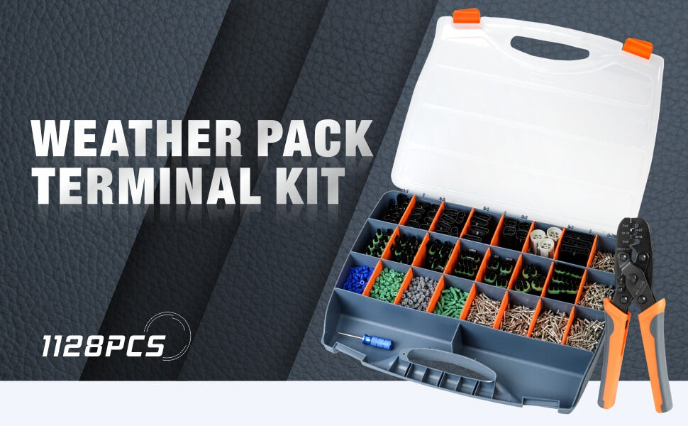 weather pack terminal kit
