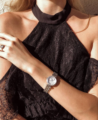 A Diamond Watch To Wear To The Office Or Suite Weekend Wardrobe