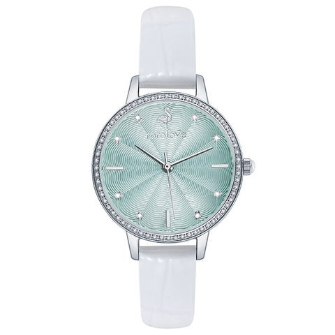 Rorolove 8 Real Diamonds Dial Ladies Watch