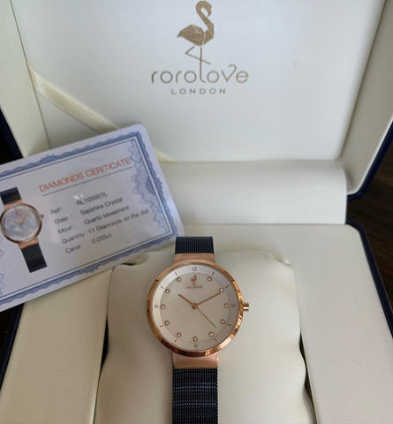 5 Reasons Why Rorolove Diamond Watches Make The Perfect Christmas Gift For Her