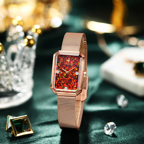 Rorolove Diamonds Watch & Jewelry, gift for her