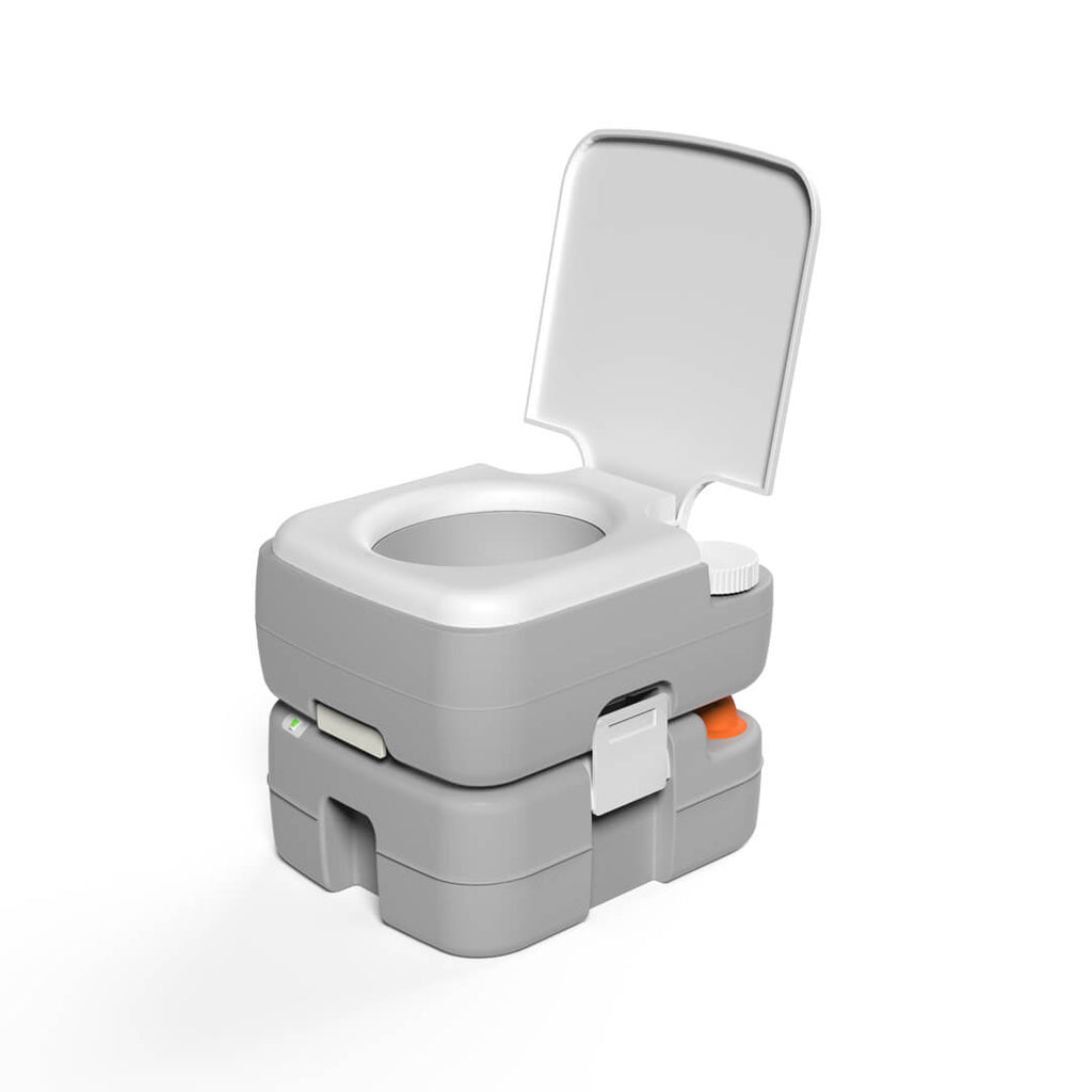 upgraded camping toilet
