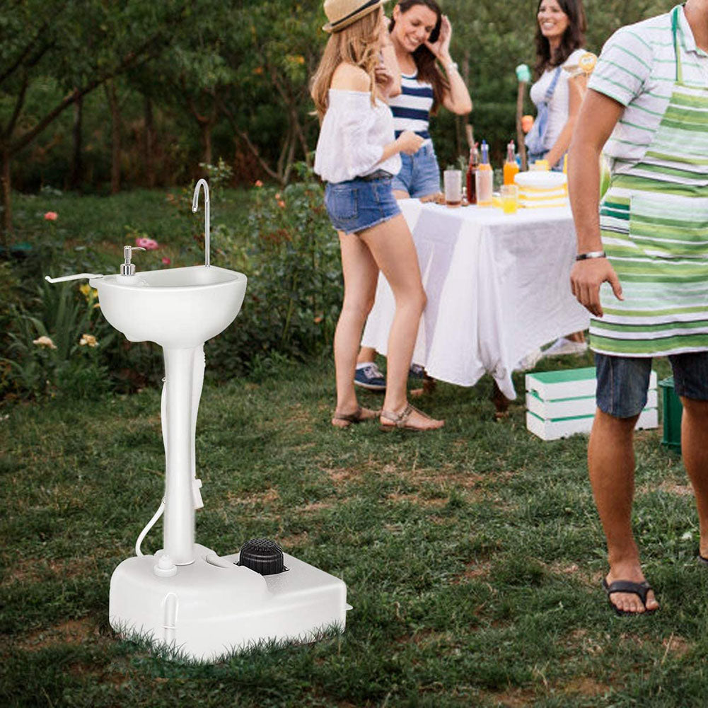 portable sink for outdoor wedding