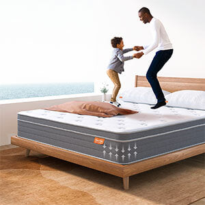 Sweet Night Island Mattress in Bed Dimensions