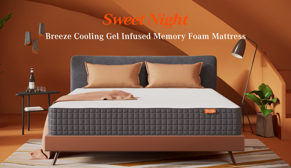 Sweet Night Breeze Memory Foam Mattress main banner