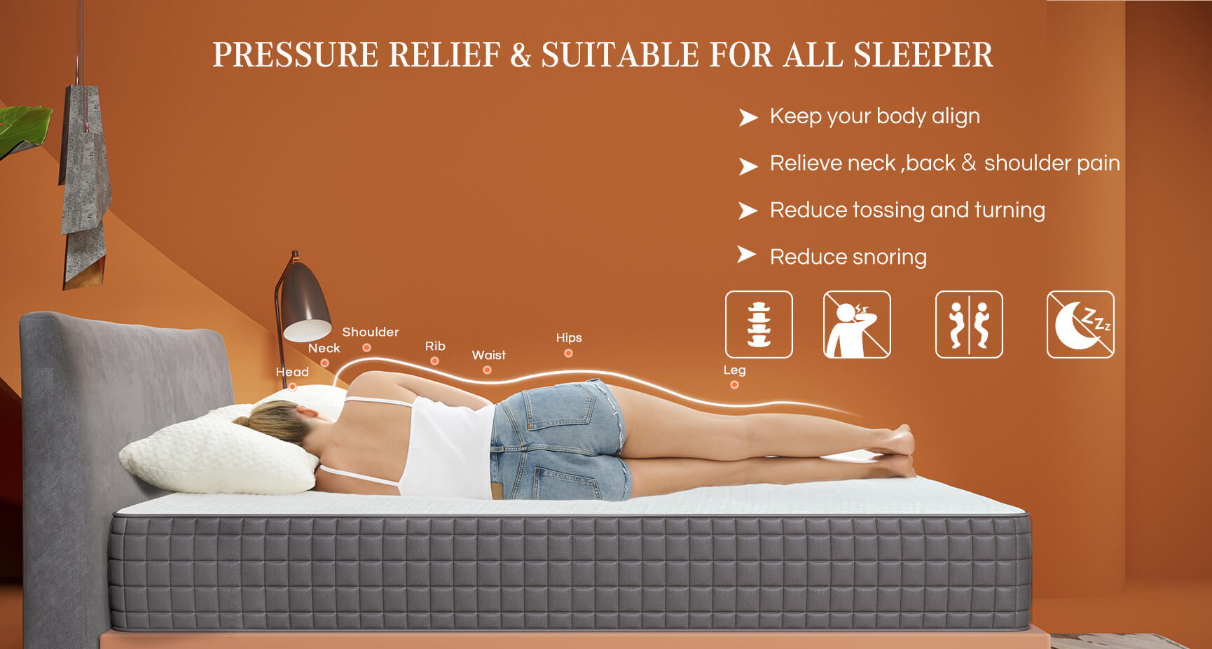 Sweet Night Breeze Mattress pressure relief and suitable