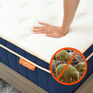 Sweet Night Ocean Blue Hybrid Mattress healthy foam for safety