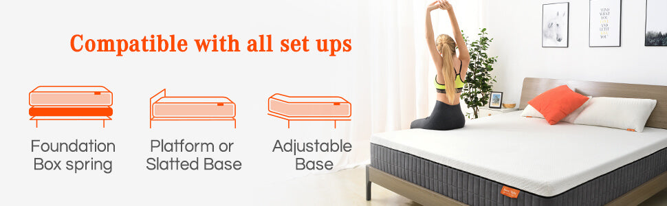 Sunkiss Memory Foam is The Best Mattress in 2021 Fit All Set ups