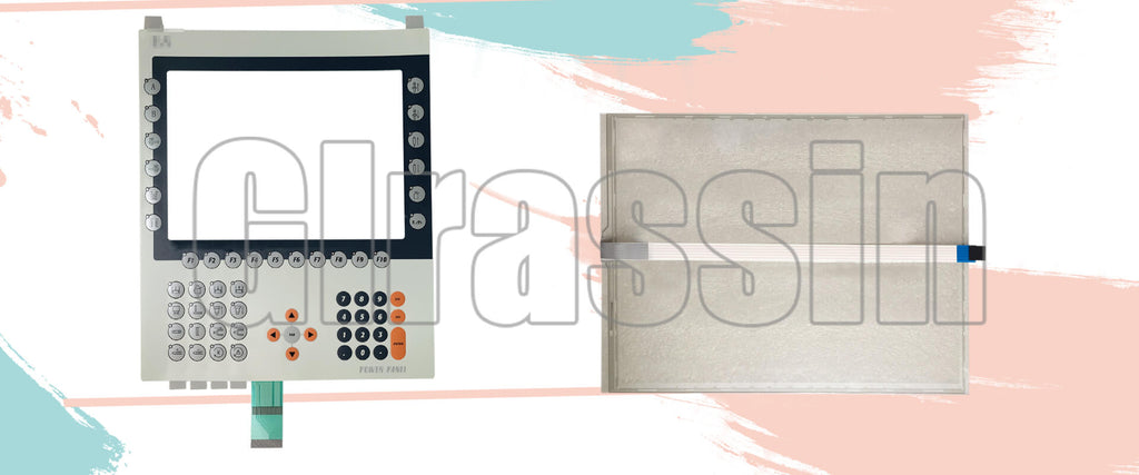 Touch Screen and Membrane Keypad for B&R Power Panel PP281 Repair  Replacement