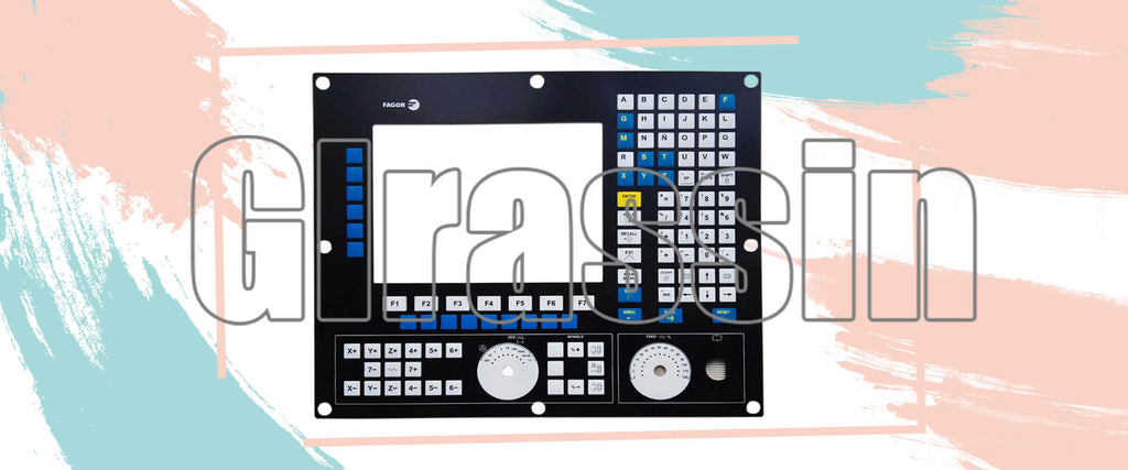 Membrane Keyboard for Fagor CNC 8055i PLUS-M-MON-K Replacement