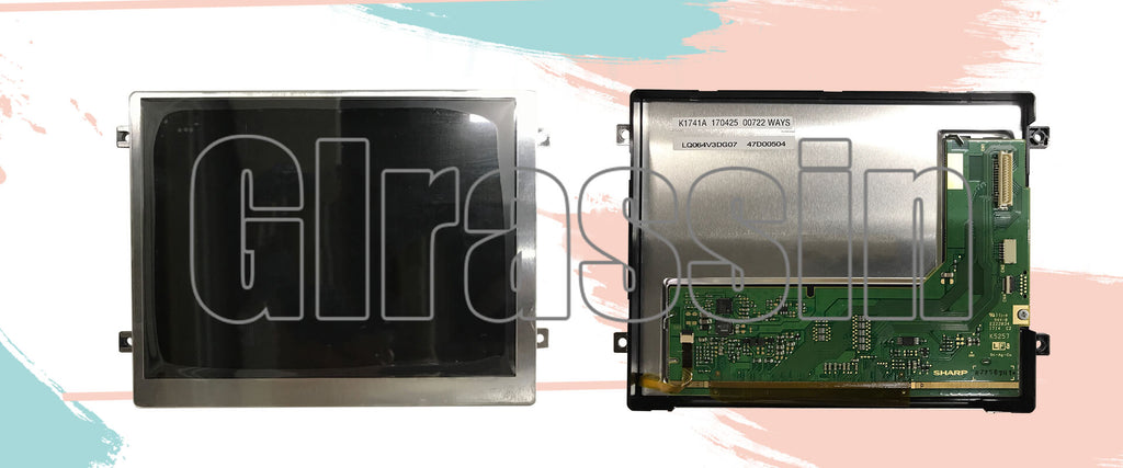 6.4 inch LCD Display Module for Sharp LQ064V3DG07 Replacement