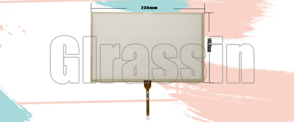 Original Touch Screen 10.2 INCH for AMT2526 91-2526-020