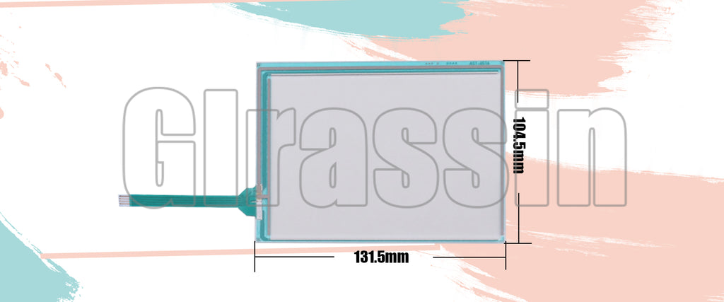 Original Touch Screen for DMC AST-057A AST-057A070A Replacement