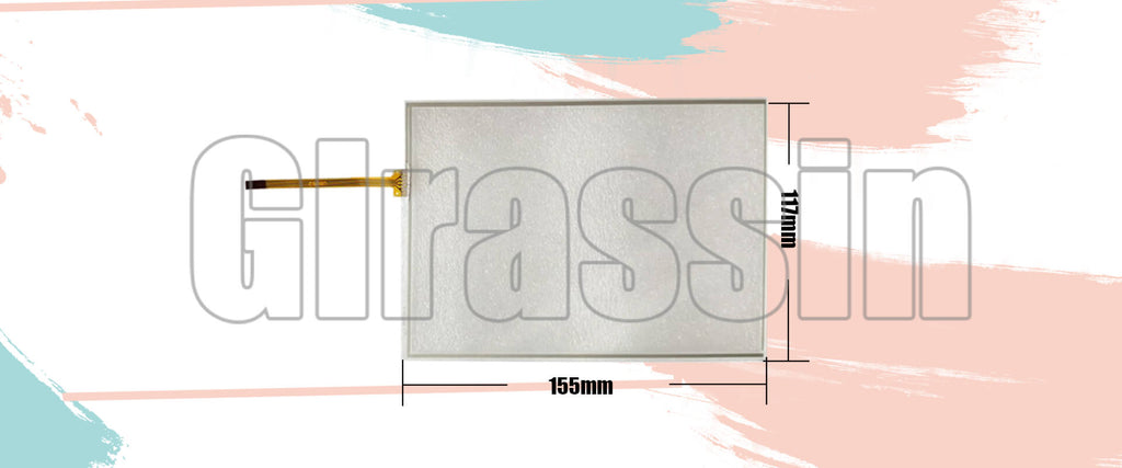 6.5 INCH Touch Screen for DMC TP-3162S1 Replacement