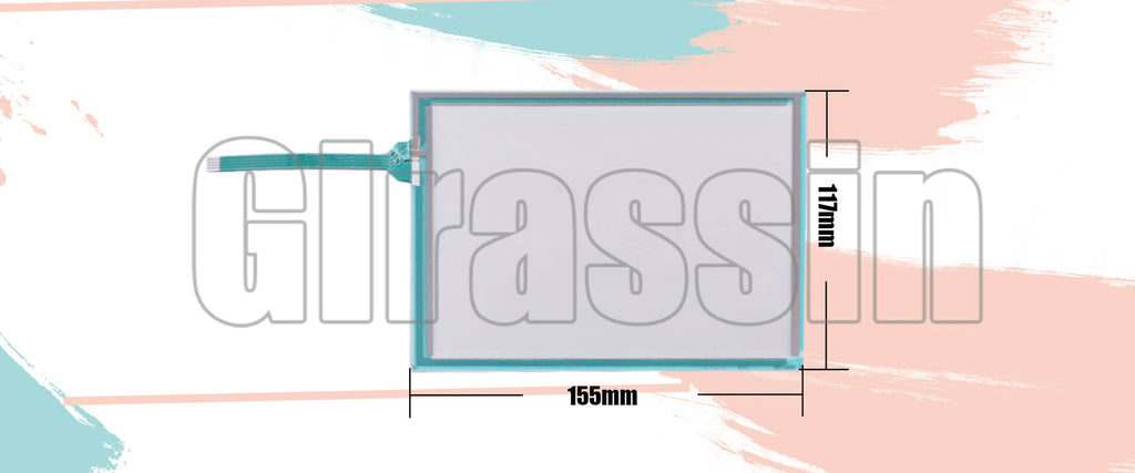 Original 6.5 INCH Touch Screen for DMC AST-065B080A