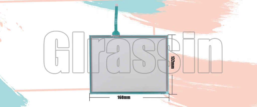 7.5 INCH Original Touch Screen for DMC AST-075A070A Replacement