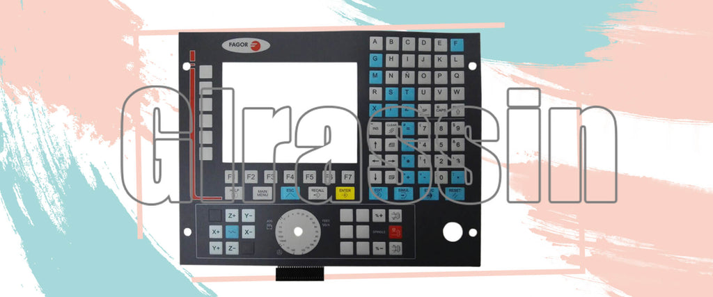 Membrane Keypad for Fagor CNC8036M Repair Replacement
