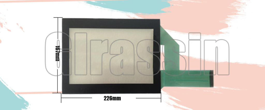 Touch Screen and Protective Flim for Proface HMI GP450-EG11/GP450-EG12