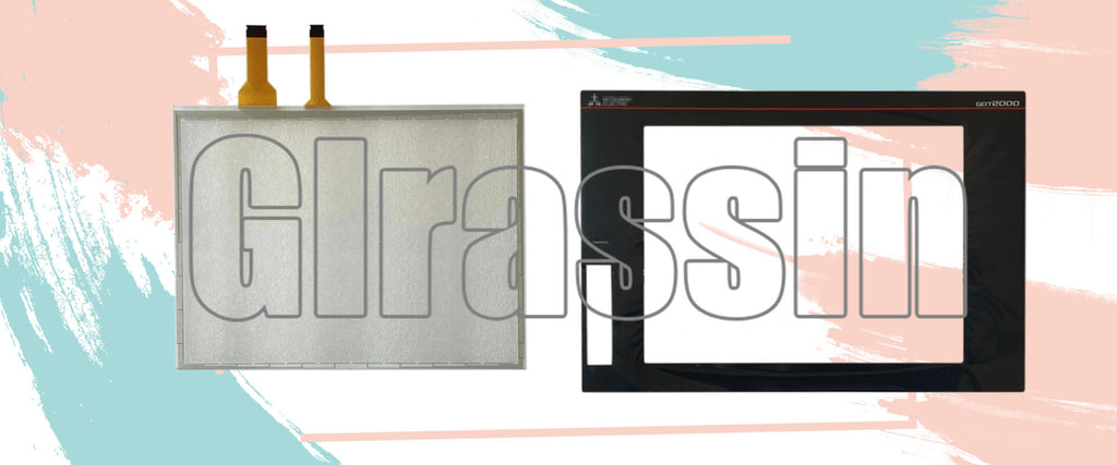 GT2708-VTBA/D Touch Screen for Mitsubishi HMI Replacement