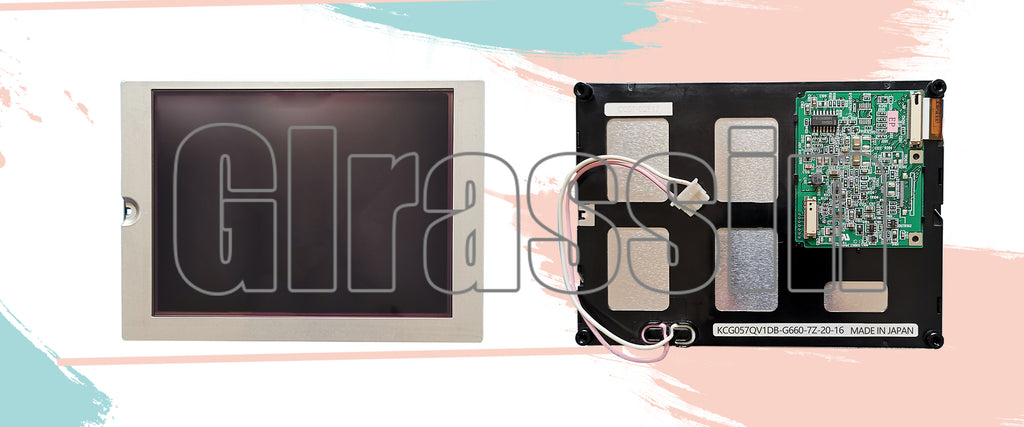 LCD Display Panel for Kyocera KCG057QV1DB-G660 Replacement