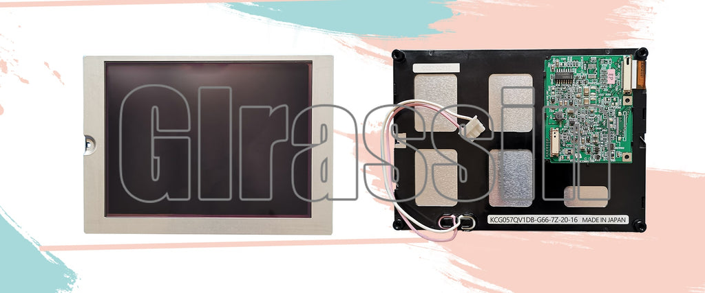 5.7 INCH LCD Display Module for Kyocera KCG057QV1DB-G66 Repair Replacement