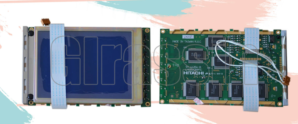 LCD Display Module for Hitachi LMG6912RPFC Replacement