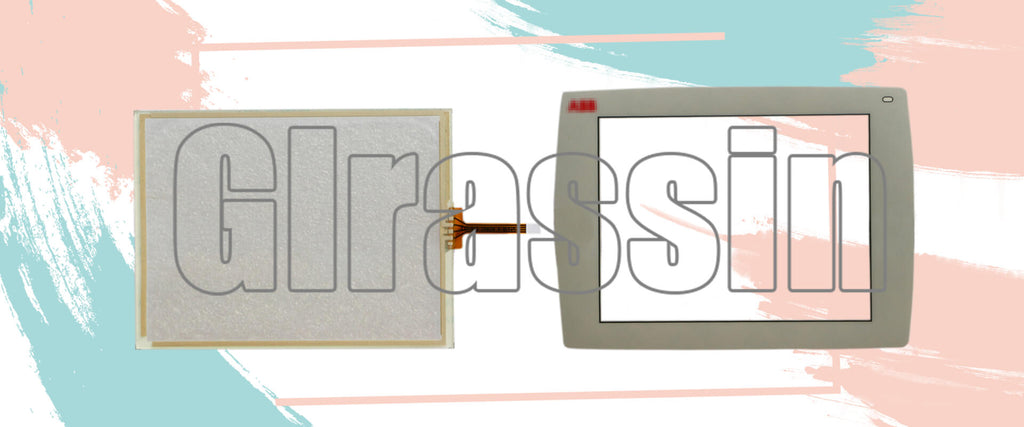 Touch Screen and Overlay for ABB Panel 800 PP835A 3BSE042234R2 Repair Replacement