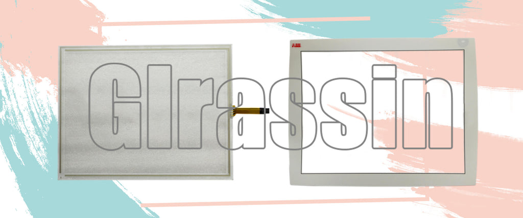 Touchscreen and Protective Flim for ABB Panel 800 PP865A 3BSE042236R2