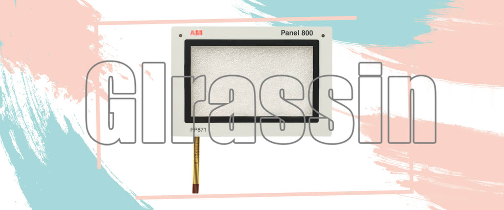4.3 INCH Touch Screen for ABB Panel 800 PP871 3BSE069270R1 Repair Replacement