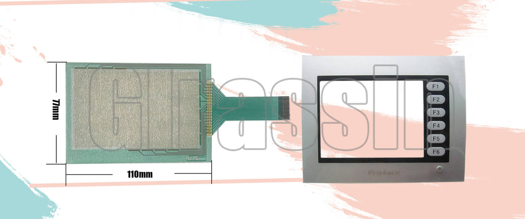 Touch Screen for Pro-face HMI ST400-AG41-24V Replacement