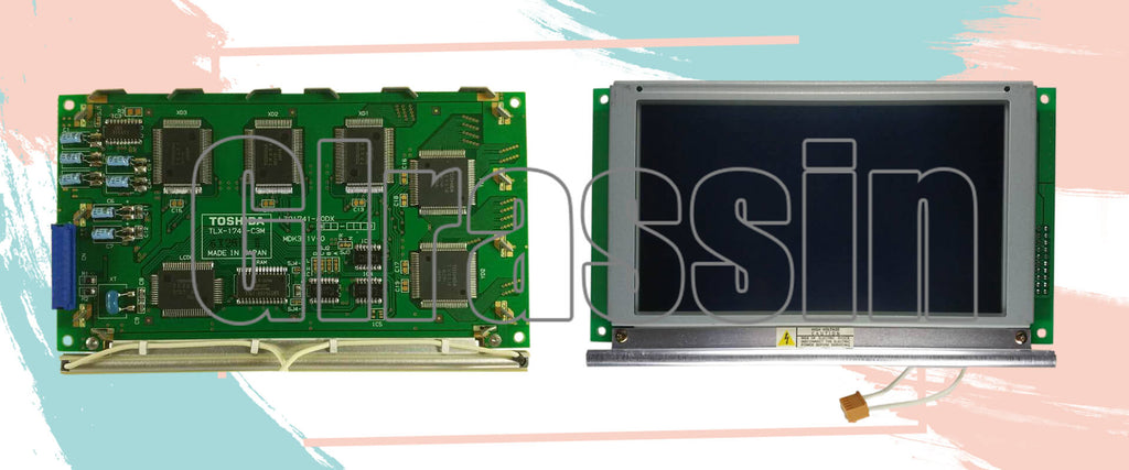 5.4 INCH LCD Display Module for TOSHIBA TLX-1741-C3M Repair Replacement