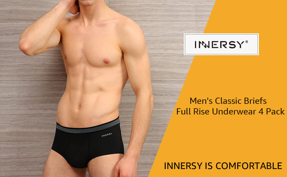 comfortable men's classic briefs