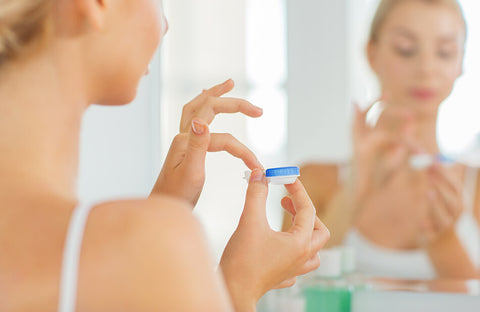 Put In Contact Lenses Smoothly-3