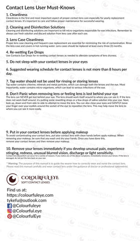 ColourfulEye Lens Care Tips-2