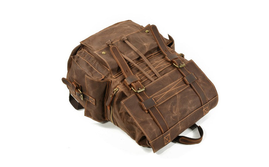 canvas backpack mens bags