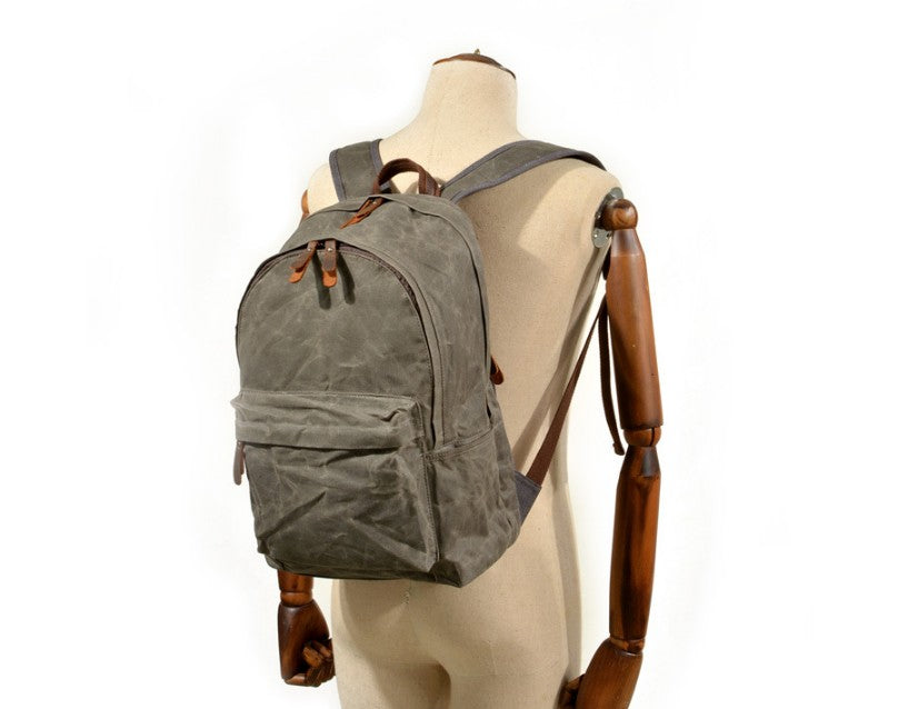 womens black canvas backpack bags