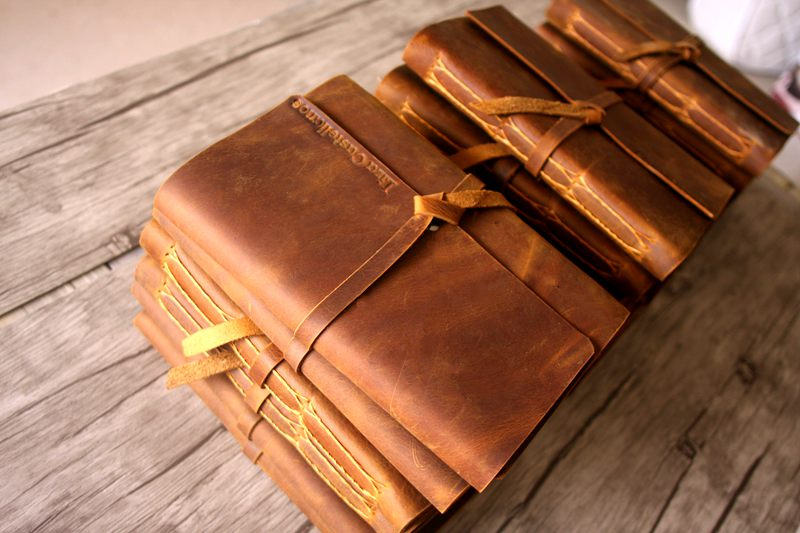 corporate gifts bulk of leather journal