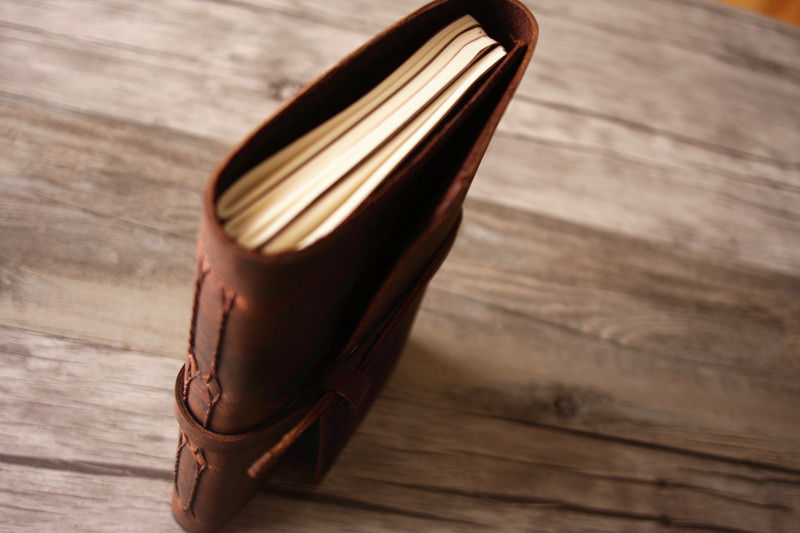 Leather Creative Guest Photo Book