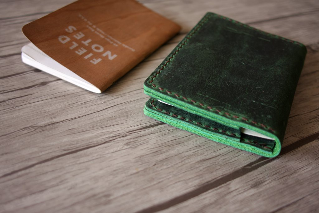 Personalized Leather Passport Sleeve
