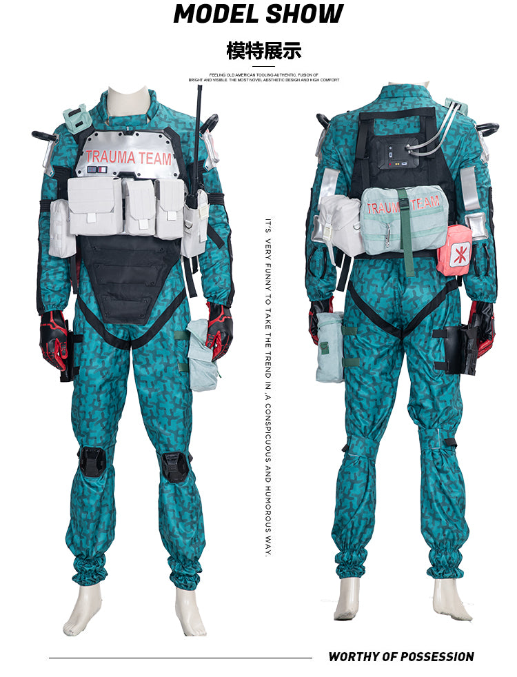 Cyberpunk 2077 Trauma Team Cosplay Costumes